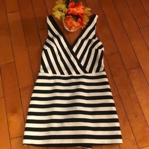 Gorgeous black and white romper by Zara size MED